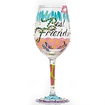 Best Friends Always Wine Glass 4053096