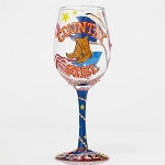 Country Girl Wine Glass 4053098