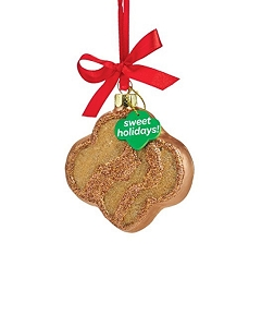 Girl Scouts Trefoil Cookie Ornament 4053400