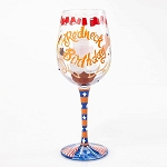 Redneck Birthday Wine Glass 4054096