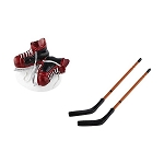 Hockey Skates & Sticks 4054205