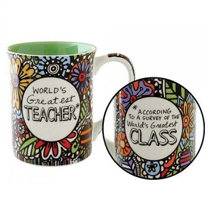 Our Name Is Mud Greatest Teacher Cuppa Doodle Mug 4054450
