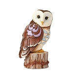 Mini Owl on Tree Stump 4055064