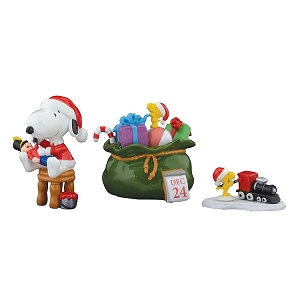 Department 56 Peanuts Santa's Helpers Set of 4 4055827