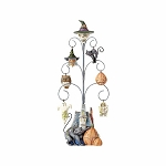 Shrieking Tree Halloween Tree with 6 Mini Ornaments 4056587