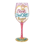 Best Coworker Ever Wine Glass 4056853