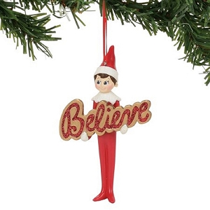 Elf On The Shelf Believe Ornament 4056872