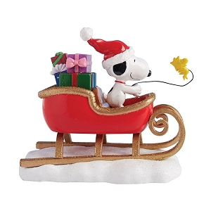 Department 56 Peanuts Snoopy Sleigh 4057053