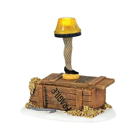 The Christmas Story Leg Lamp.A Christmas Story Lit Leg Lamp 4057258