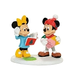 Department 56 Disney  Mickey & Minnie Card Exchange 4057264