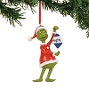 Department 56 Grinch Naughty Or Nice Ornament 4057457