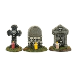Spooky Graveyard Vigil Set of 3 4057627