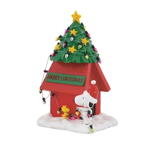 Peanuts Snoopy and Woodstock Dog House 4058130
