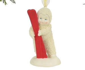 Red Ski Ornament 4058501