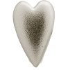 Brushed Heart Silver 41204