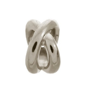 Double Ring Silver 41210