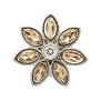 Big Champagne Flower Charm 41451-3