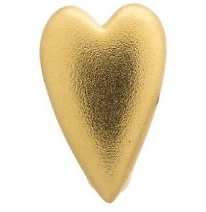 Brushed Heart Gold 51300