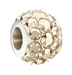 Splendor Metallic Rose Gold Swarovski Bead 2025-1272
