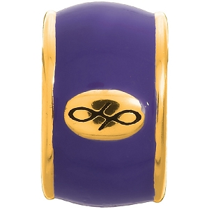 Endless Amethyst Enamel Gold 52100-4
