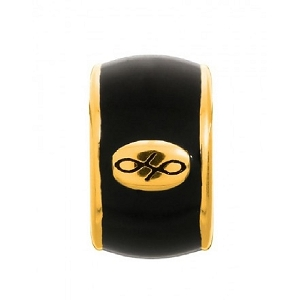 Endless Black Enamel Gold 52100-7