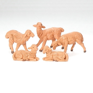 5 Piece Sheep 5 Scale 52539