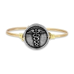Nurse Bangle Brass 7.0