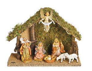 7 Piece Nativity Set 5 Inch Scale 54664
