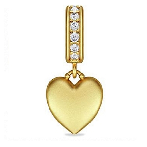 Sparkling Love Drop Gold 56370