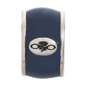 Endless Navy Enamel Silver 42100-10
