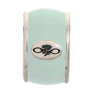 Endless Mint Green Enamel Silver 42100-15