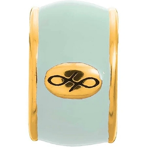 Endless Mint Green Enamel Gold 52100-15