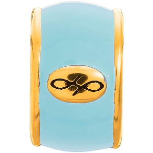 Endless Sky Blue Enamel Gold 52100-5