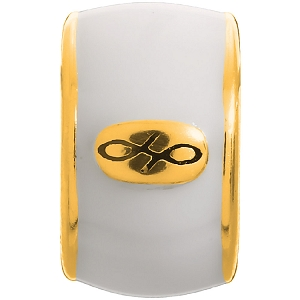 Endless White Enamel Gold 52100-8