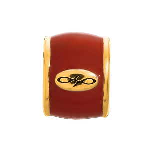 Endless Deep Red Enamel Gold 52100-9