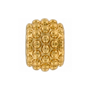 Mini Bubbles Bead Gold J97141