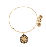 Four Leaf Clover Bangle Rafaelian Gold