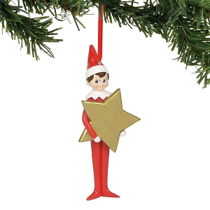 Elf On The Shelf Personalizable Star Ornament 6000370