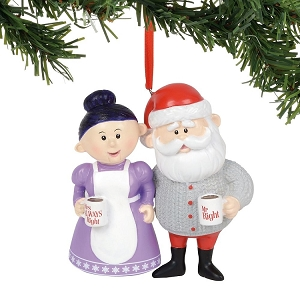 Department 56 Rudolph Mr Right and Mrs Always Right Ornament 6000497