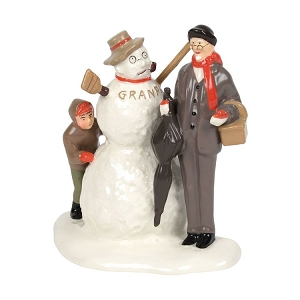 Norman Rockwell's Grandfather and Snowman 6000649