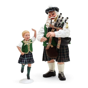 Country Dance Celtic Santa 6000724