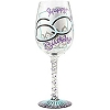 Lolita 60th Birthday Wine Glass 6000379