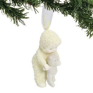 Baby with Bear Ornament 6000861
