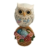 Mini Owl on Easter Basket 6001081