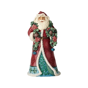 Wrapped In Good Tidings Winter Wonderland Santa 6001420