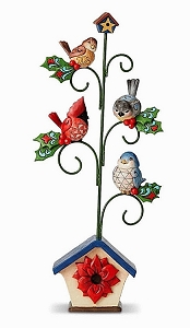 Birds in Holiday Tree 6001480
