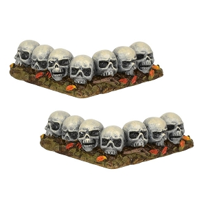 Row Of Skulls Curved 6001747