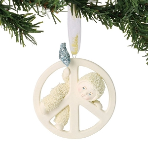 Peace Baby Ornament 6001865