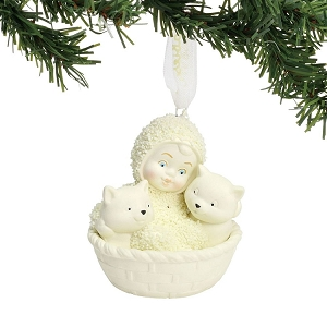 Basket of Kittens Ornament 6001988
