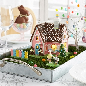 Snow Village Easter Sweets House 6002310